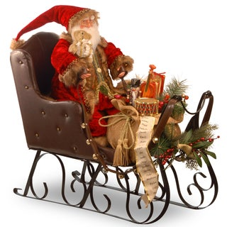 30-inch Santa on Sleigh