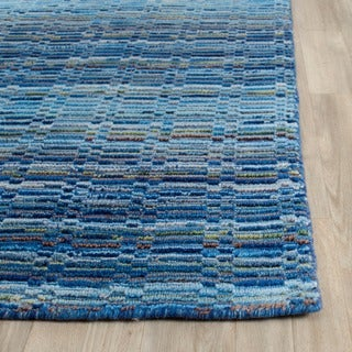 Safavieh Handmade Himalaya Blue/ Multi Wool Rug (2' x 3')