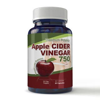 Totally Products Maximum Potency Apple Cider Vinegar Capsules (60 Count)|https://ak1.ostkcdn.com/images/products/9578254/P16767598.jpg?impolicy=medium