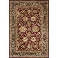 Safavieh Handmade Persian Legend Rust/ Navy Wool Rug - 4' x 6'