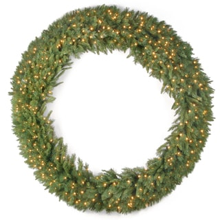 20-inch Winchester Pine Wreath with Clear Lights