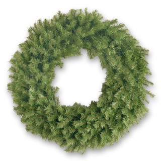 36-inch Norwood Fir Wreath with Clear Lights
