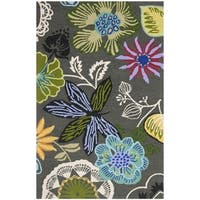 Safavieh Hand-Hooked Four Seasons Grey / Multicolored Rug - 2' x 3'