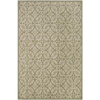 Safavieh Hand-hooked Chelsea Sage Wool Rug (8'9 x 11'9)