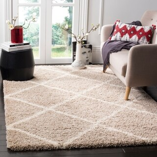 Safavieh Hudson Diamond Shag Ivory/ Grey Rug (8' x 10')|https://ak1.ostkcdn.com/images/products/9578651/P16768034.jpg?_ostk_perf_=percv&impolicy=medium