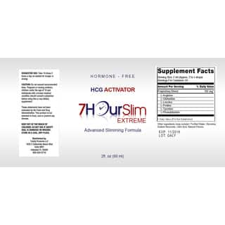 Totally Products 7 Hour Slim Advanced Slimming Supplement
