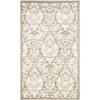 Safavieh Indoor/ Outdoor Amherst Wheat/ Beige Rug (3' x 5')