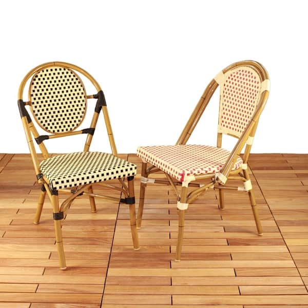 Stacking Patio Bistro Chairs