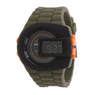Diesel Men's DZ7299 Viewfinder Digital Green Silicone Watch