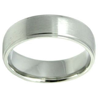Unisex Stainless Steel Wedding Band