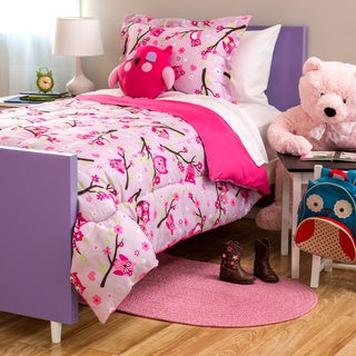 Kids Collection Owl 4-Piece Comforter Set
