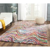 Safavieh Hand-Tufted Nantucket Multi Cotton Rug - 8' x 10'