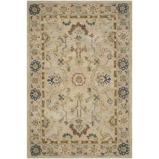 Safavieh Handmade Anatolia Oriental Ivory/ Beige Hand-spun Wool Rug (3' x 5')