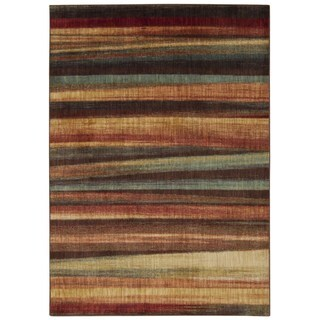 Rug Squared Lafayette Multicolor Abstract Area Rug (2'2 x 7'6)