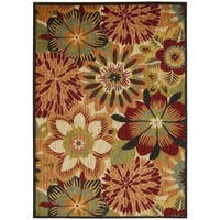Rug Squared Lafayette Multicolor Floral Area Rug - 5'3 x 7'5