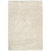Rug Squared Monticello Bone Solid Shag Rug (3'11 x 5'11) - 3'11 x 5'11