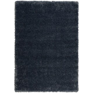 Rug Squared Monticello Navy Solid Area Rug (5'3 x 7'3)