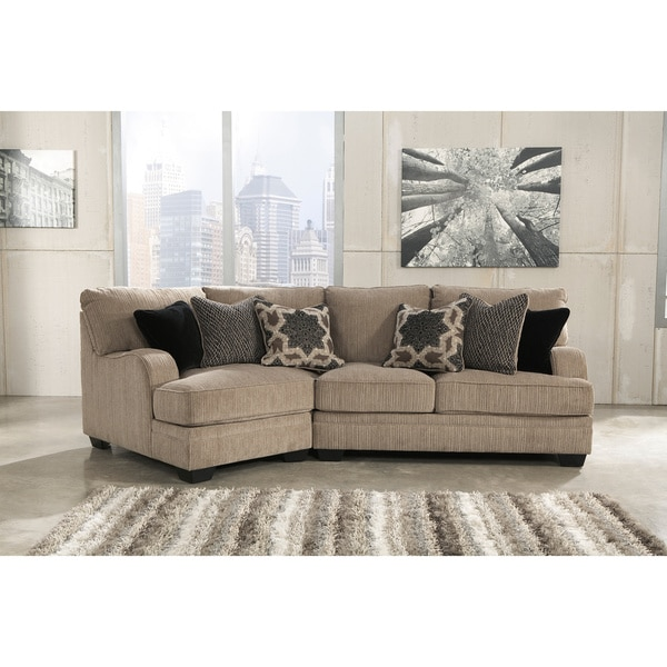 Shop Signature Design By Ashley Katisha Platinum Loveseat