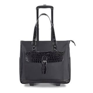 Heritage Travelware Women's Carry On Wheeled 17-inch Laptop Upright Tote|https://ak1.ostkcdn.com/images/products/9579742/P16769191.jpg?impolicy=medium