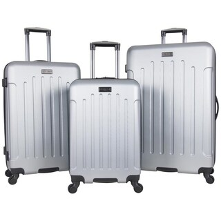 Heritage 'Lincoln Park' 3-piece Durable Hardside 4-wheel Spinner Luggage Set
