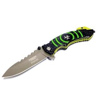 Defender 8-inch Extreme Spring Assisted Knife with Belt Clip