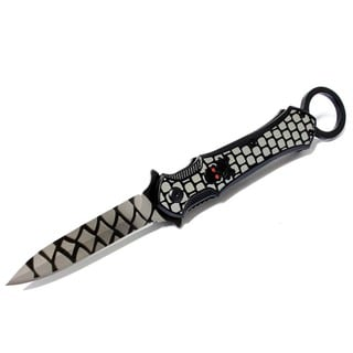 9-inch Defender Folding Spring Assisted Throwing Knife with Belt Clip