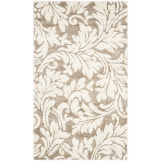 Safavieh Indoor Outdoor Amherst Wheat Beige Rug 8 X 10