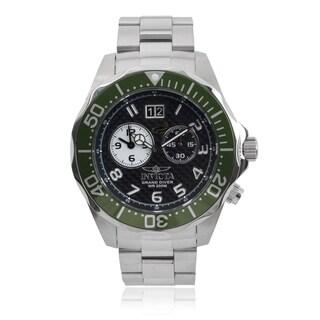 Invicta Men's 14443 'Pro Diver' Dual Time Quartz Watch