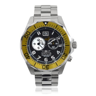 Invicta Men's 14441 'Pro Diver' Dual Time Quartz Watch