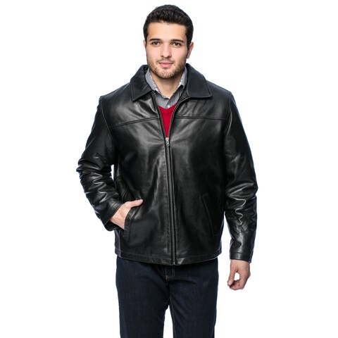 Chistian Reed Men's 'Dean' Leather Jacket