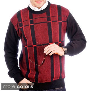 Tosani Men's Cotton Crew-neck Sweater