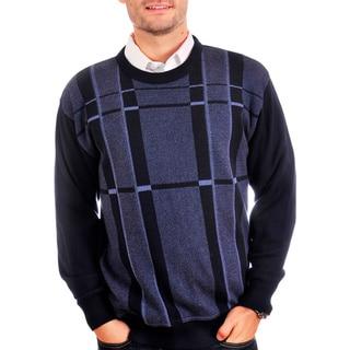 Tosani Men's Cotton Crew-neck Sweater