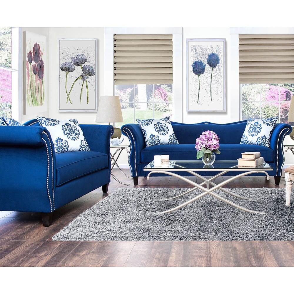 Elegant Buy Blue Living Room Furniture Sets Online At Overstock.com | Our Best Living  Room Furniture Deals