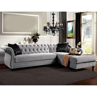 Furniture Of America Elegant Aristocrat Premium Velvet