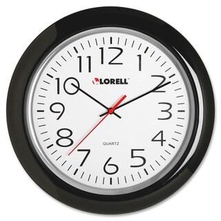 Lorell Wall Clock Black