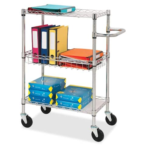 Lorell 3-tier Rolling Cart