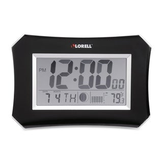 Lorell LCD Wall/ Alarm Clock