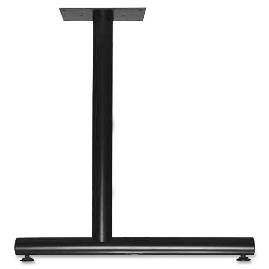 Lorell Training Table C-Leg Table Base (LLR60649), Silver...