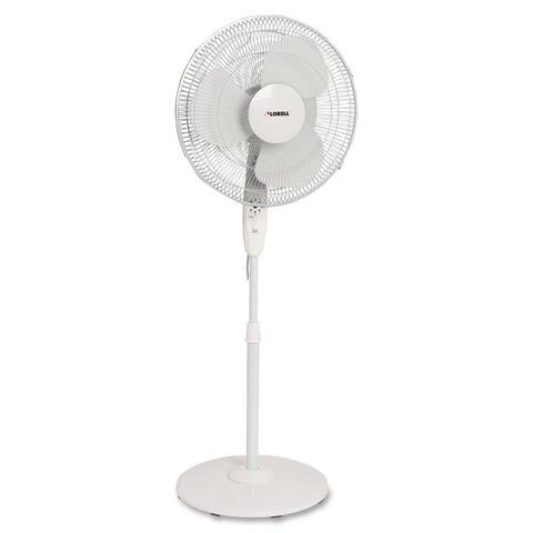 Lorell White Floor Fan