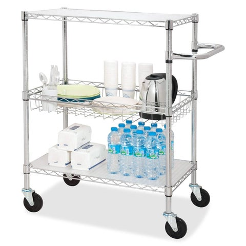 Lorell 3-Tier Rolling Carts