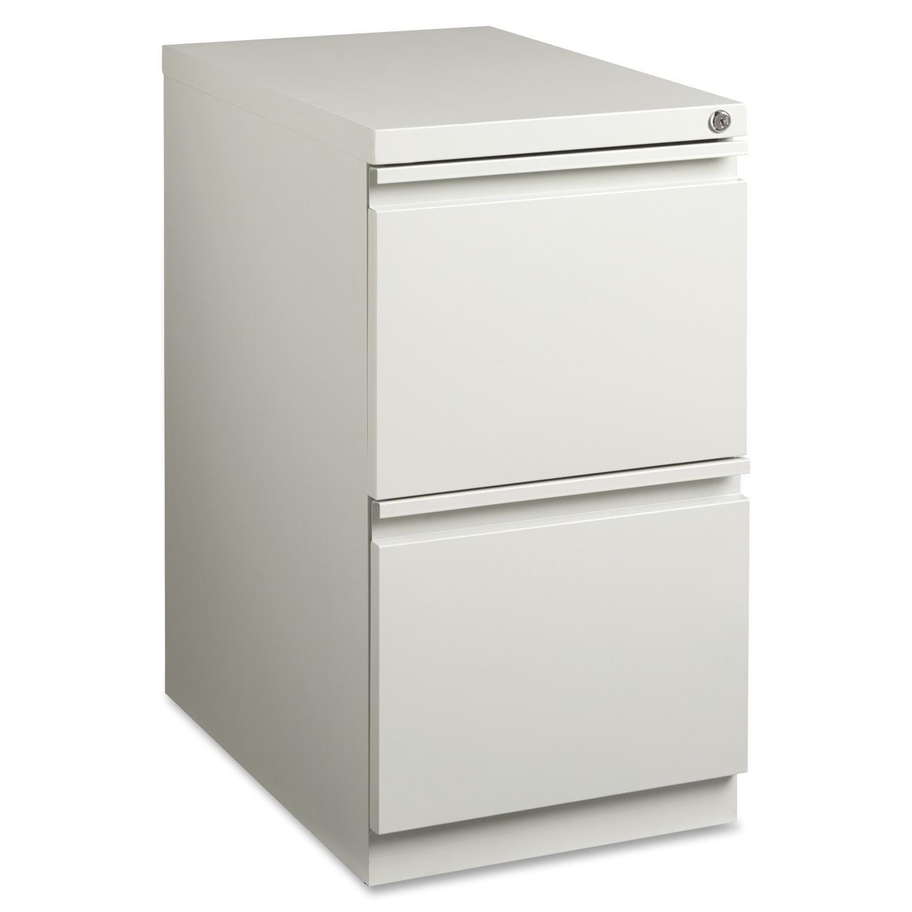 Lorell Mobile File Pedestal (LLR49525), White