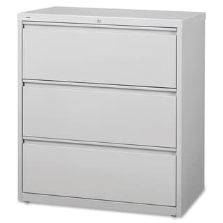 Lorell 3-Drawer Lt. Gray Lateral Files