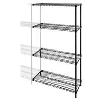 Lorell Industrial Adjustable Wire Shelving Add-On-Unit