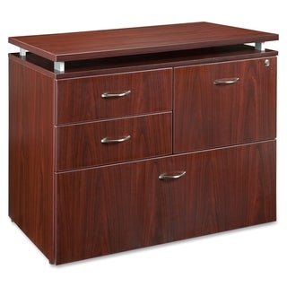 Lorell Ascent Mahogany File Cabinet