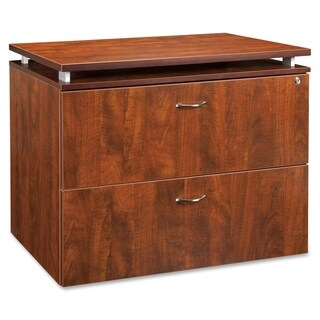 Lorell Ascent Cherry Scratch-resistant File Cabinet
