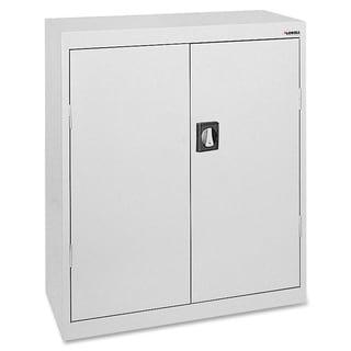 Lorell Fortress Series 3-shelf Metal Storage Cabinet