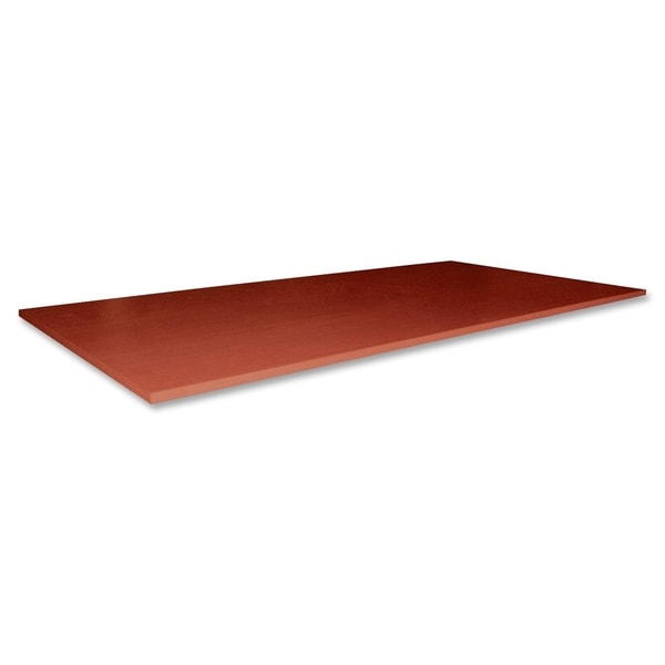 Lorell Essentials Rectangular Conference Table Top Fabric Cherry