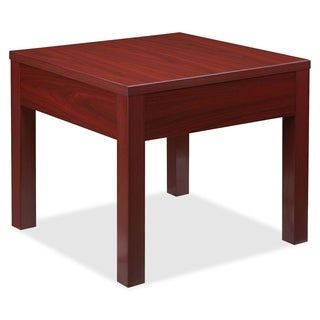 Lorell Occasional Mahogany Corner Table