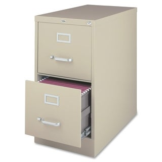 Lorell 2-drawer Heavy-duty Putty Vertical File