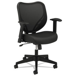 basyx by HON VL551 Series Black Mid-Back Swivel/ Tilt Chair